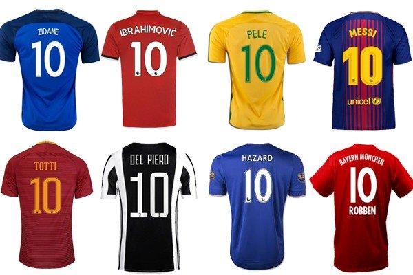 10 номер в футболе