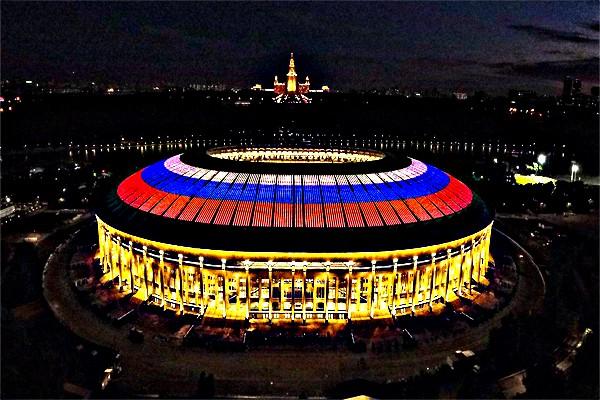 Стадион Лужники 2018