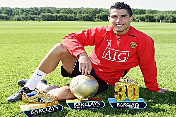 Роналду в Манчестер Юнайтед