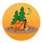 Турист команда логотип