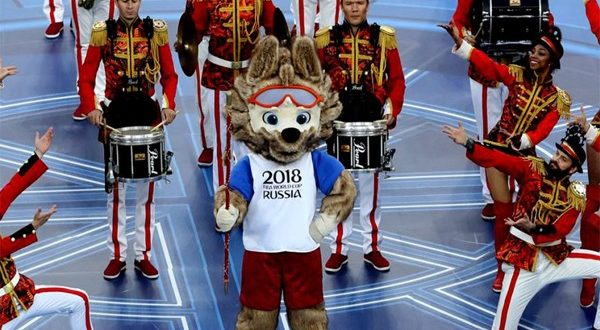 церемония открытия Кубка конфедераций 2017