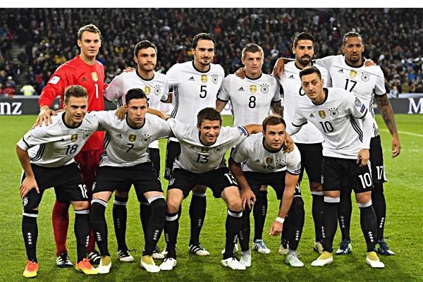 Состав сборной германии на чемпионате мира 2018