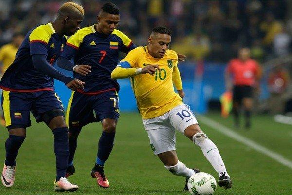Неймар в сборной Бразилии