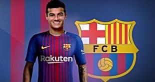 Барселона уверена в подписании Коутиньо зимой
