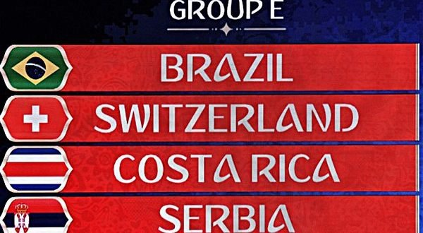 Группа Бразилии на ЧМ-2018
