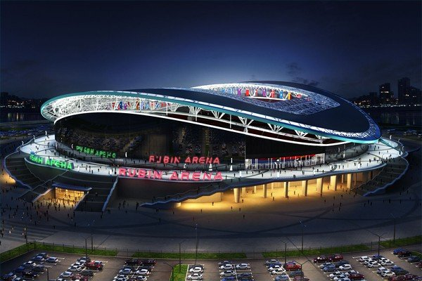 Казань Арена с высоты