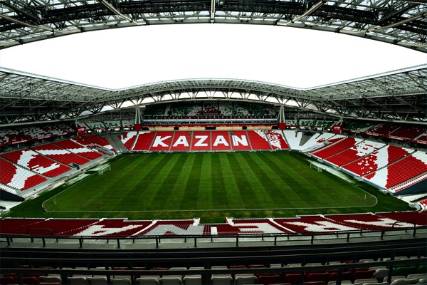 Казань арена трибуны