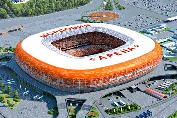 Стадион в Мордовии к Чм-2018