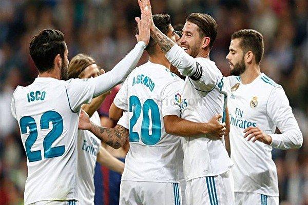 Реал Мадрид празднует