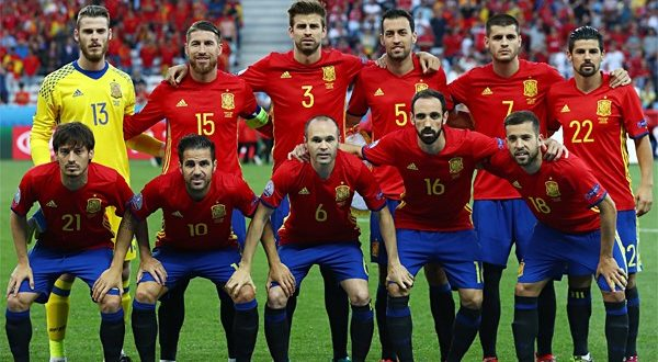 Состав сборной Испании на ЧМ мира по футболу 2018
