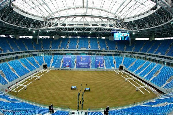 Стадион Крестовский ЧМ-2018
