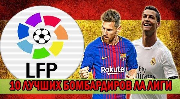 Бомбардиры чемпионата испании по футболу за всю историю