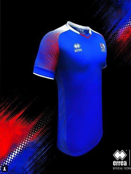 Футболка Исландии к ЧМ 2018