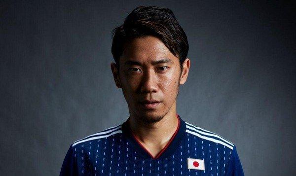Футболка футбольной сборной Японии 2018