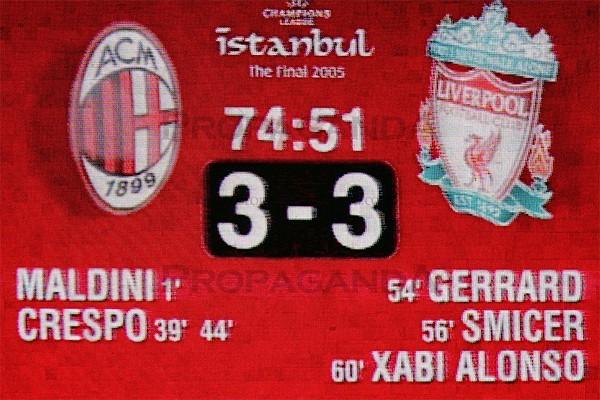 Ливерпуль - Милан 3:3 2005