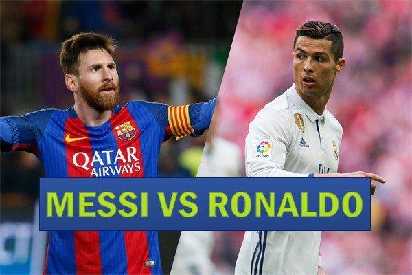 Месси против Роналду