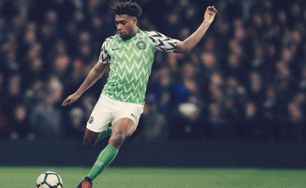 Футболист Нигерии