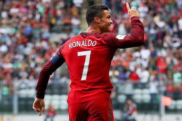 Роналду - сборная Португалии