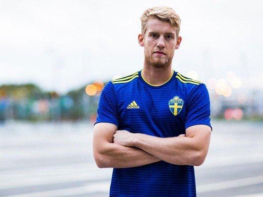 Форма Швеции Кубок мира 2018