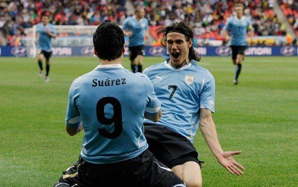 Суарес Кавани Уругвай
