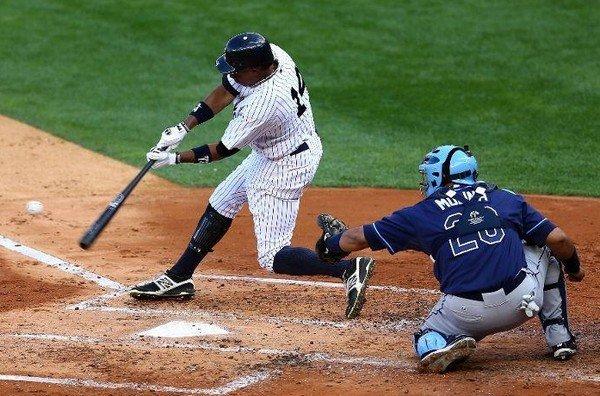 Удар в бейсболе
