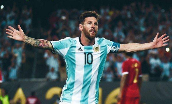 Месси Аргентина