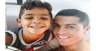 Криштиану Роналду младший станет великим футболистом