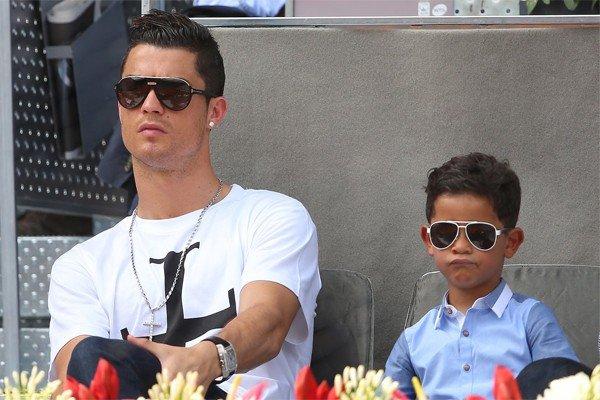 Роналду младший с папой