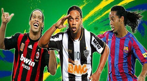 Где играл Роналдиньо: Все клубы в карьере волшебника из Бразилии