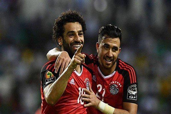 Салах в сборной Египта