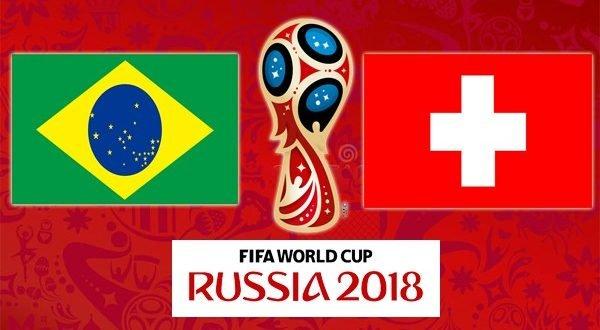 Чемпионат мира Бразилия Швейцария 17.06.2018