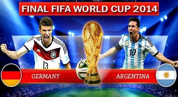Финал ЧМ-2014 по футболу Германия – Аргентина: как это было