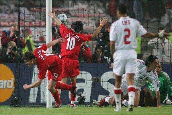 Гол Хаби Алонсо в финале ЛЧ 2005