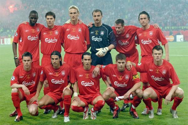 Состав Ливерпуля 2005