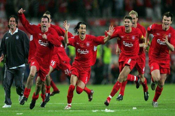 Игроки Ливерпуля в финале Лиги Чемпионов 2005 года
