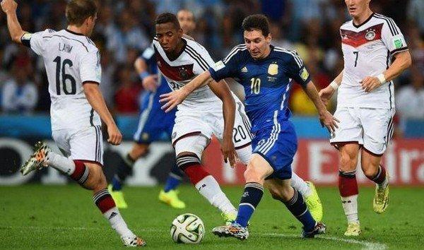 Месси против немецкой сборной