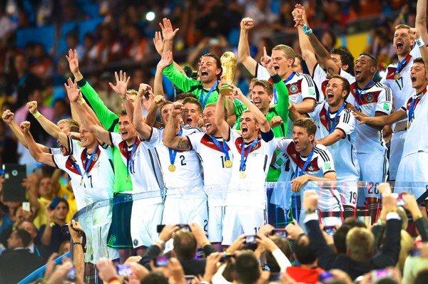 Германия празднует победу в финале ЧМ-2014