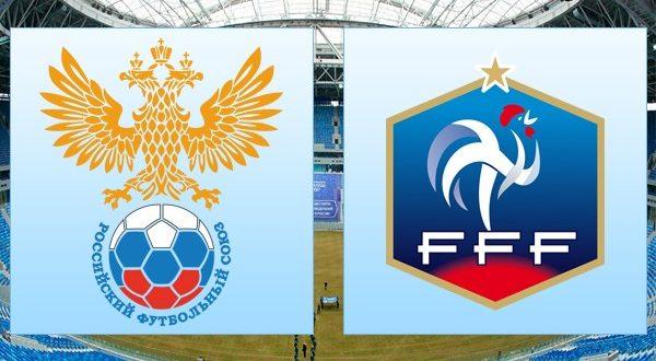 Россия – Франция (27.03.2018): прогноз на товарищеский матч