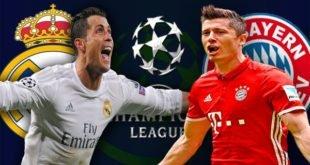 Реал Мадрид – Бавария 1 мая 2018: прогноз на ответный матч ЛЧ
