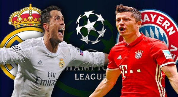 Бавария реал мадрид ответный матч 1 тайм