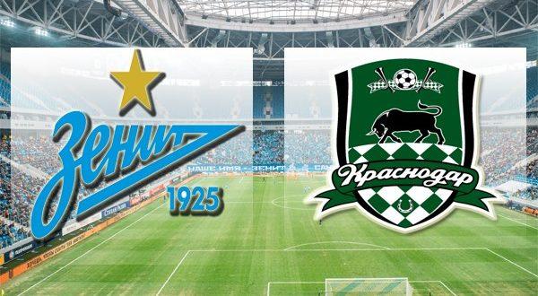 Зенит – Краснодар 7 апреля 2018: прогноз на матч и обзор коэффициентов