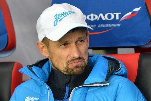 Сергей Семак в кепке Зенита