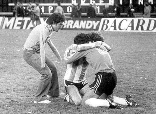 Безрукий болельщик сборной Аргентины