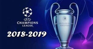 Жеребьёвки Лиги Чемпионов УЕФА 2018-2019: все стадии