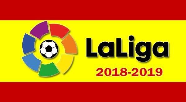 Турнирная таблица Ла Лиги 2018-2019
