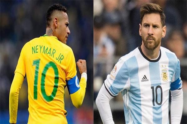 Neymar vs Messi