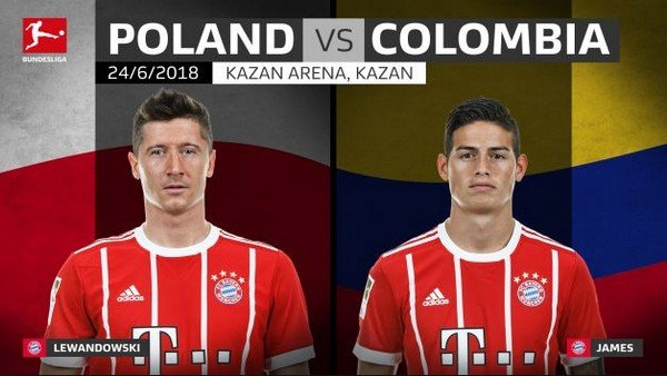 Польша Колумбия чм-2018
