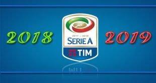 Турнирная таблица Серии А 2018-2019