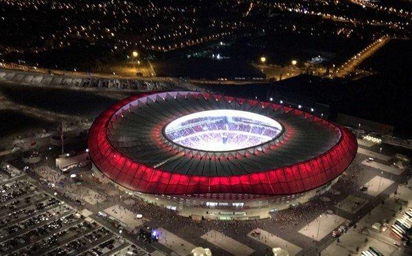 стадион Ванда Метрополитано ЛЧ