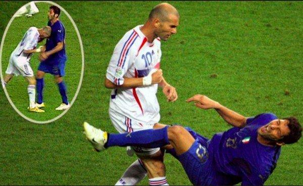 Удар Зидана головой на ЧМ 2006